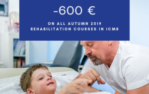 -€600 on ALL autumn 2019 rehabilitation courses